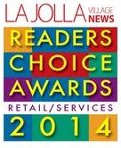 La Jolla Readers Choice Award mail box rental shipping award 2013